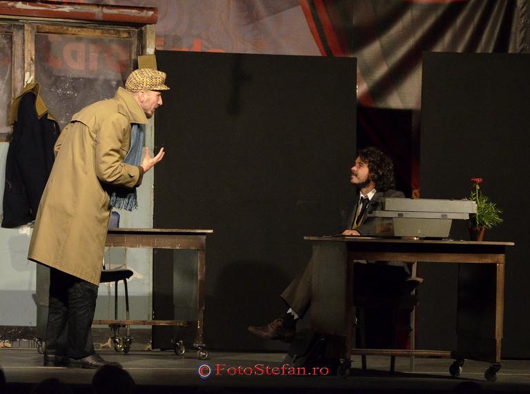 "teatrul Metropolis, piesa ""Functionarii"""