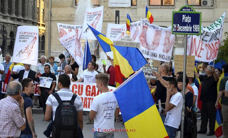 protest rosia montana bucuresti
