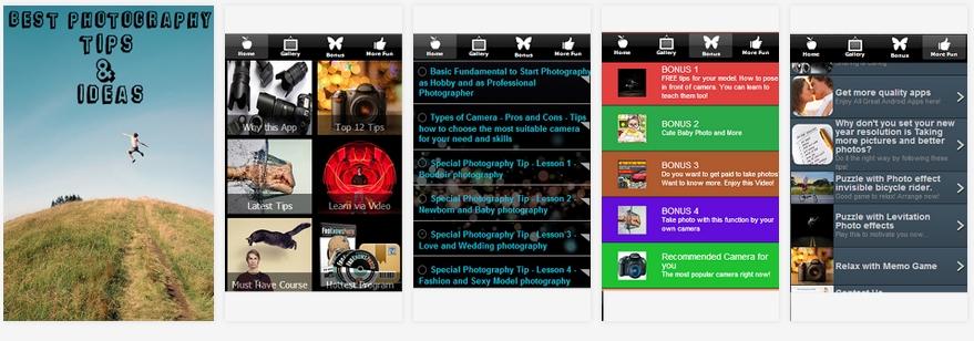 app pentru invatat fotografie