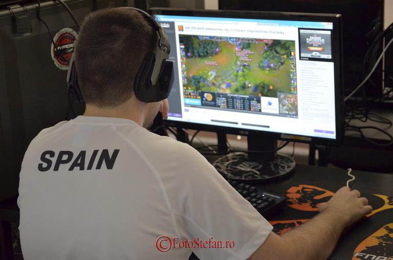 spania la Campionatul Mondial de Sport Electronic