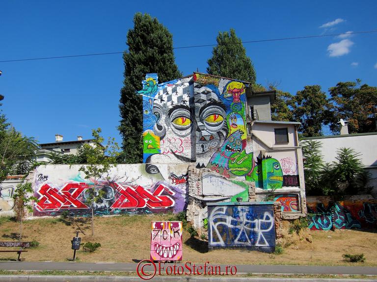 arta urbana bucuresti