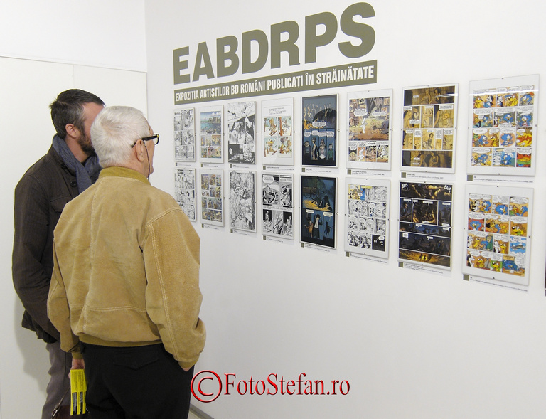 Salonul European de Banda Desenata bucuresti
