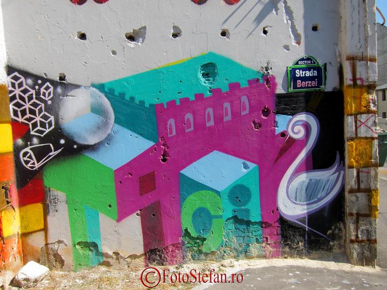 bucuresti str. berzei graffiti