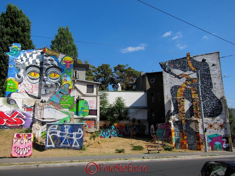 graffiti colorate bucuresti
