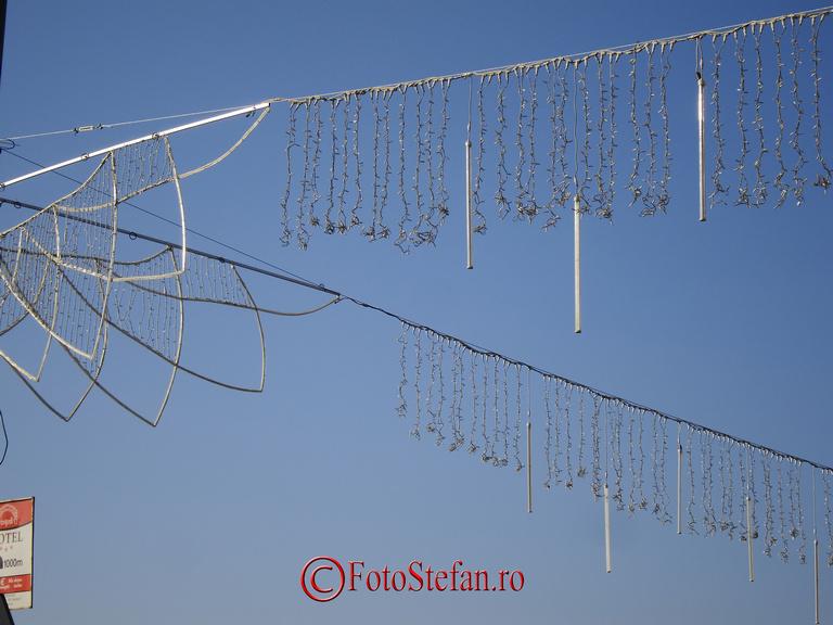 Luminitele de sarbatori de iarna in Bucuresti