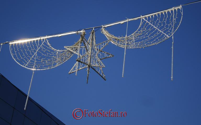 luminitele de Craciun in Bucuresti ziua