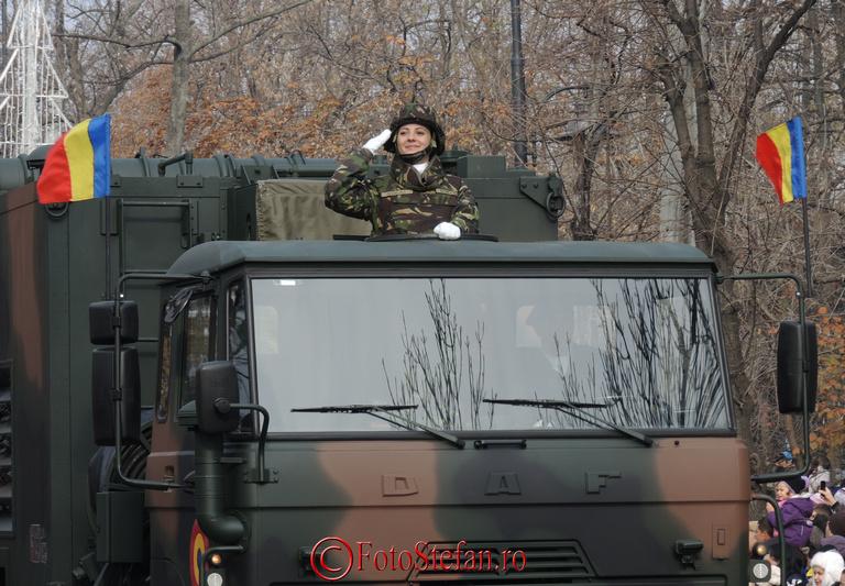 parada 1 decembrie fata militar