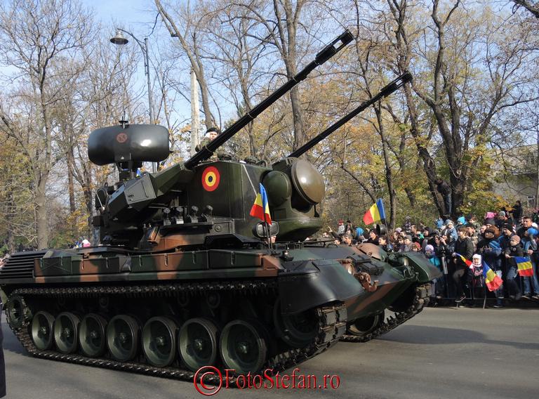 sistemul Ghepard de artilerie  antiaeriană blindat