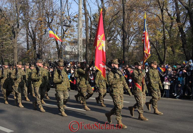 militari americani ziua nationala a romaniei