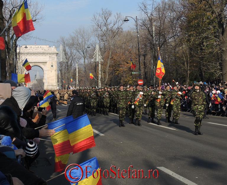 Parada de Ziua Nationala a romaniei