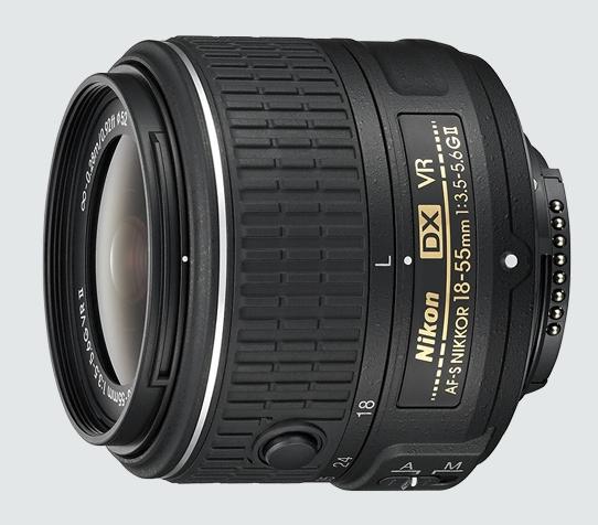 NIKKOR 18–55mm f/3.5–5.6G VR II