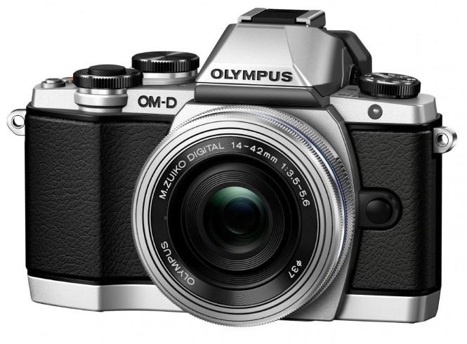 Olympus OM-D E-M10 argintiu