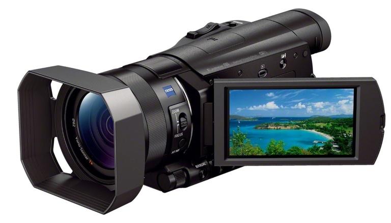 camera video compacta 4k sony