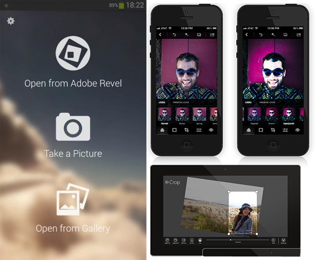 aplicatie editare foto smratphone