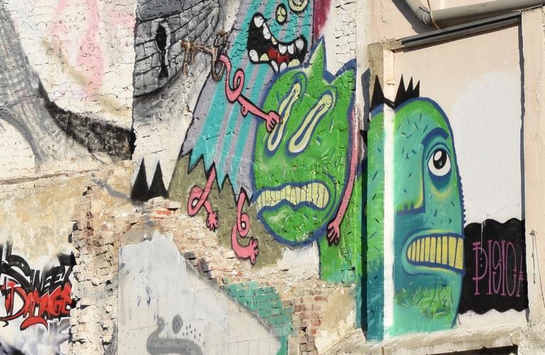 graffiti bucuresti berzei