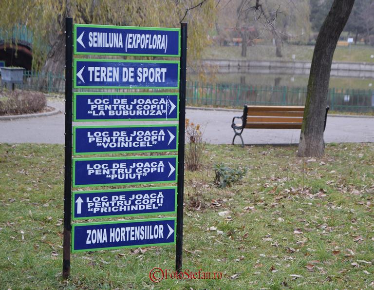 indicator in parcul morarilor