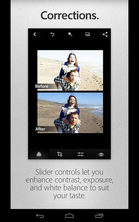 editare foto tableta smartphone