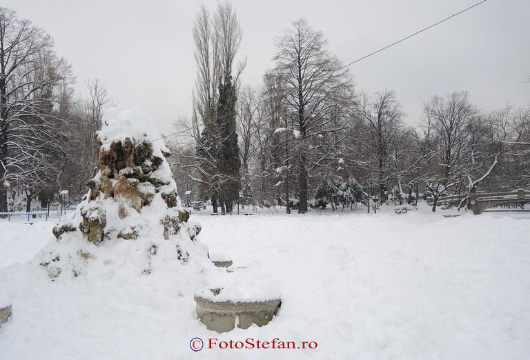 iarna lac cismigiu