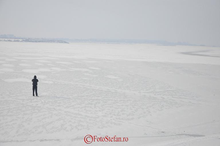lacul morii ciurel iarna