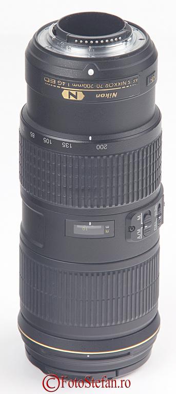 montura Nikon AF-S NIKKOR 70-200mm f/4G ED VR