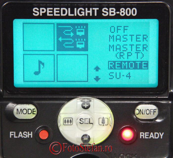 meniu nikon sb-800