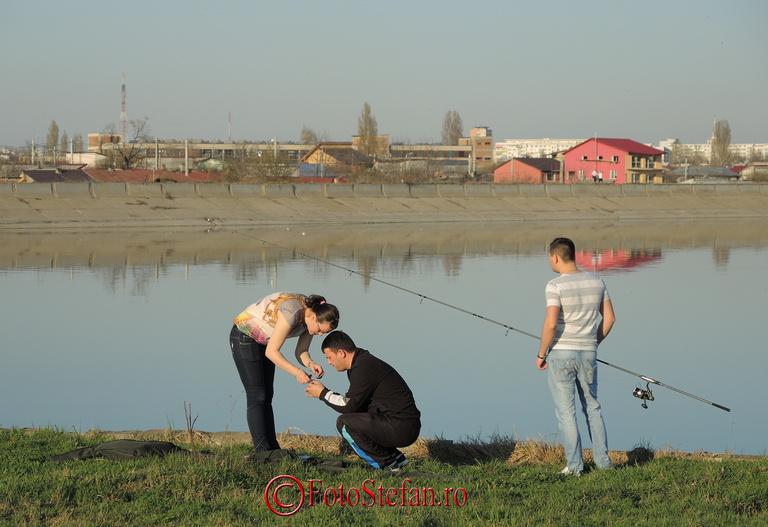 pescari lacul morii