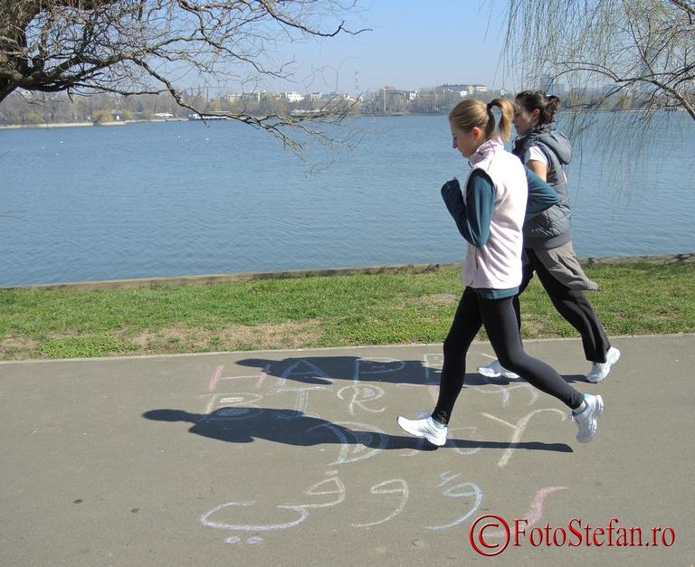 miscare sport alergare parc