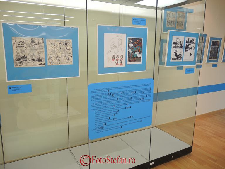 proiectului de autor Muzeul Benzii Desenate