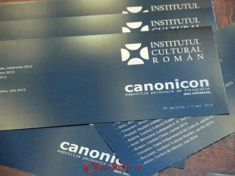"""Vernisajul expozitiei de fotografie """"Canonicon"""", autor Dan Mihalcea"""