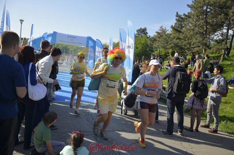 alergatori parcul tineretului cursa colorata