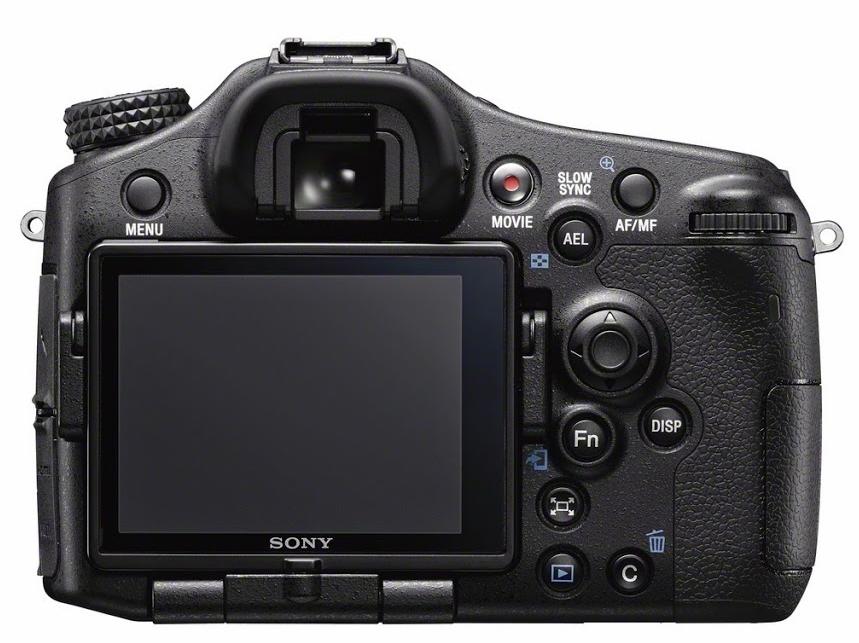 Sony SLT A77 II butoane