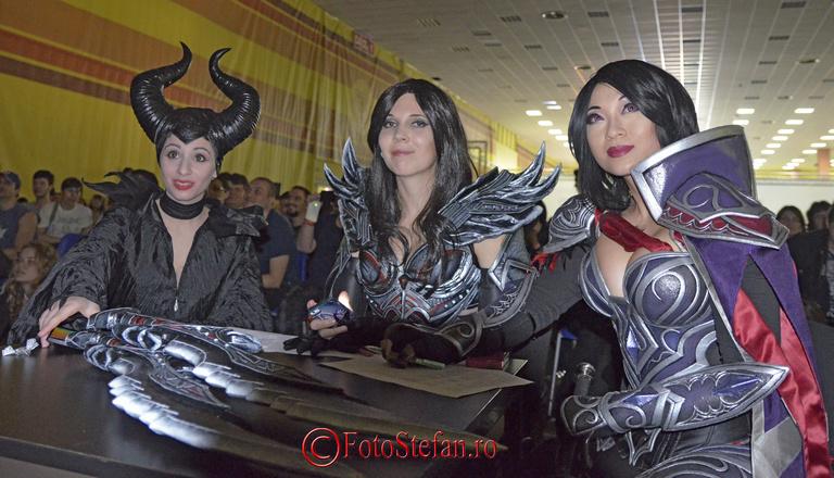 juriu concurs cosplay comic con bucuresti