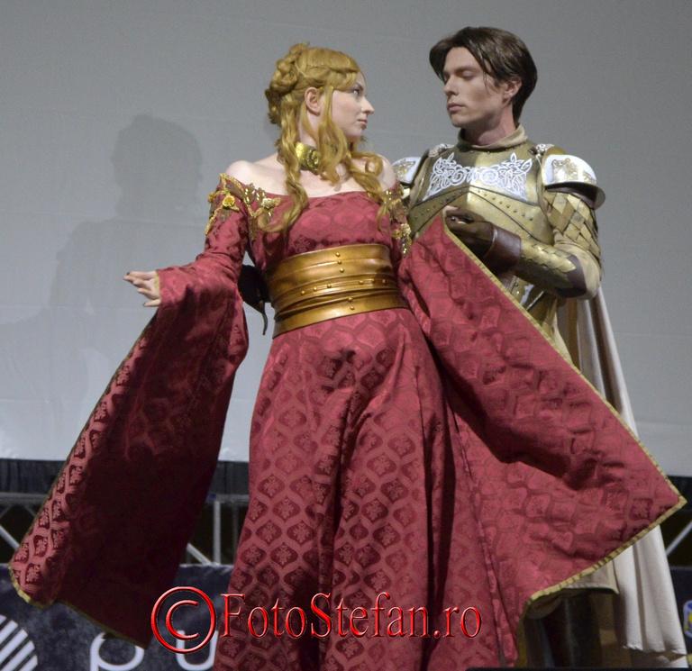 cosplay bucuresti Cersei si Jaime