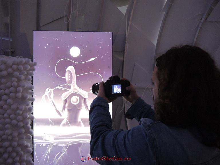 expozitie multimedia interactiva galateca