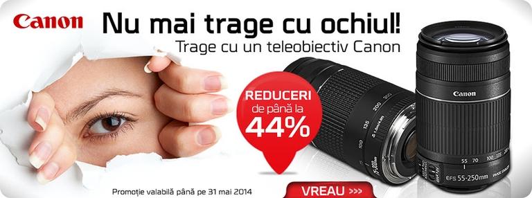 telobiective zoom canon promotie reducere