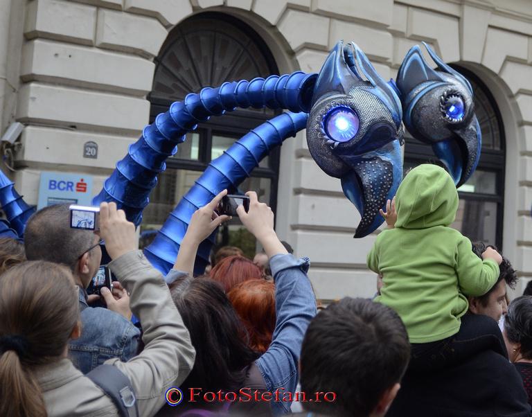 extraterestri albastri bucuresti