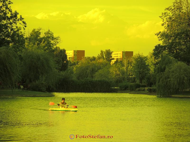 lacul titan caiac canoe