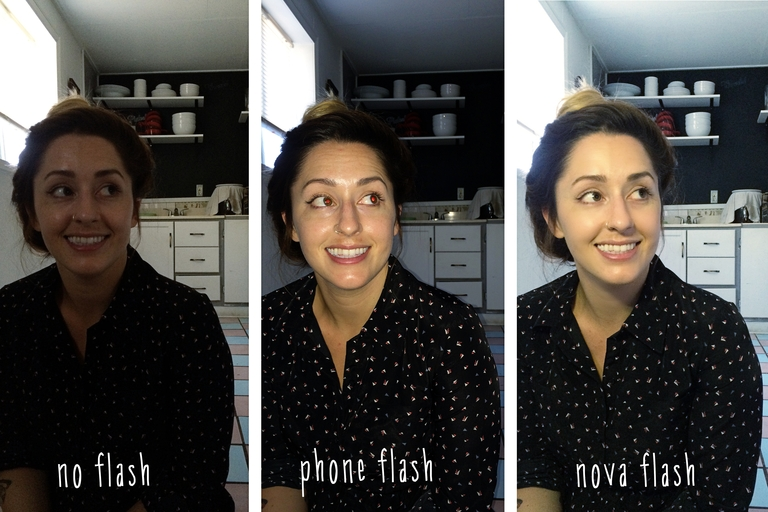 smartphone blit portret