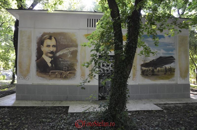 post transformare enel parc kiseleff graffiti