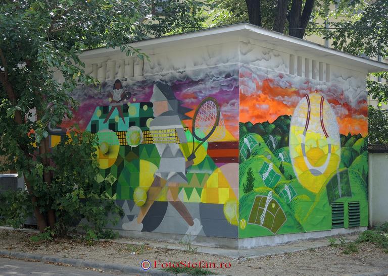 graffiti pos de transformare enel cotroceni