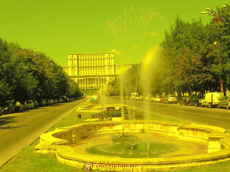 efect filtru color galben