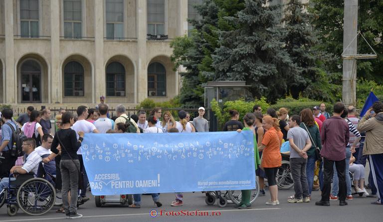 marsul oras accesibil pentru oameni