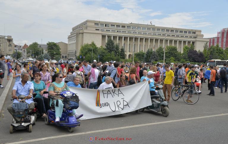 marsul oras pentru oameni guvernul romaniei