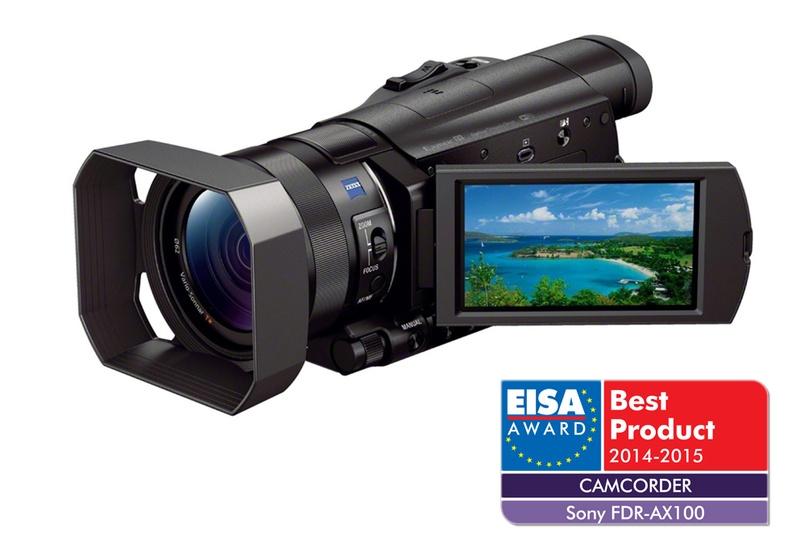 camera video  FDR-AX100E