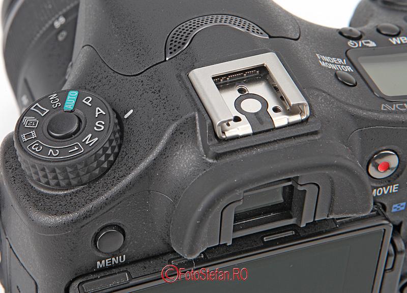 buton blocare sony a77 mark 2