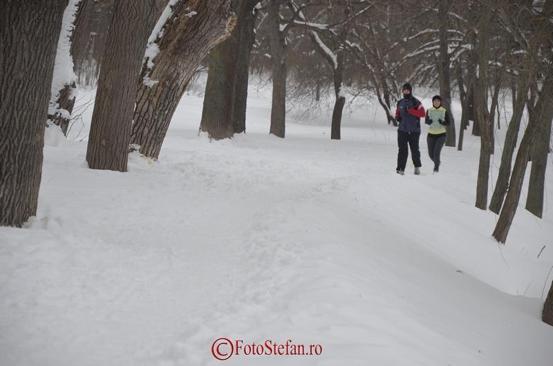 alergare iarna herastrau