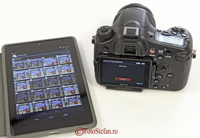 conexiune wifi nfc tableta aparat foto