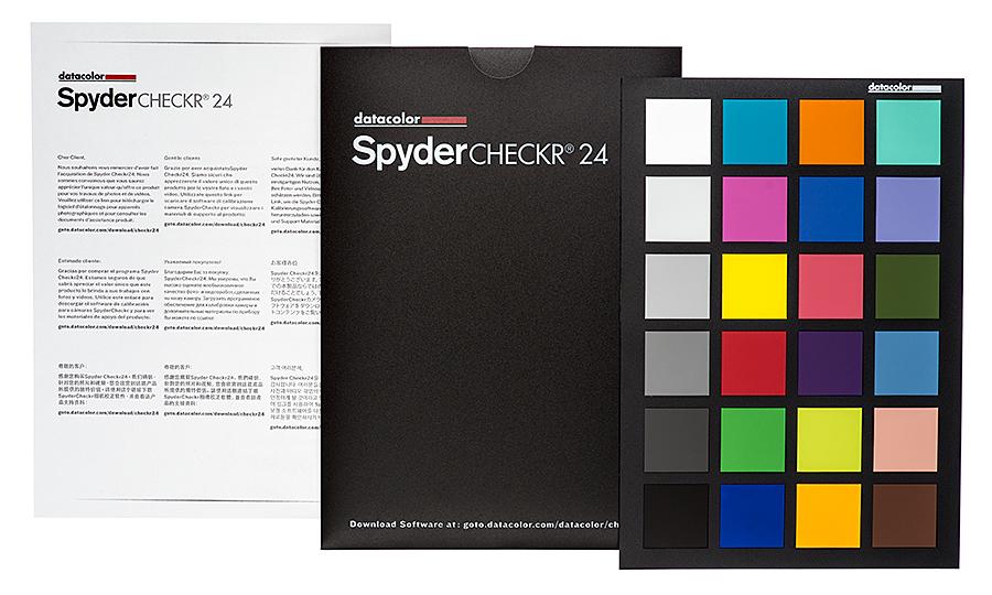Datacolor SpyderChecker 24