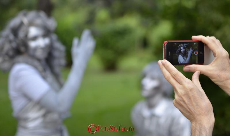 fotografiere statuile vivante