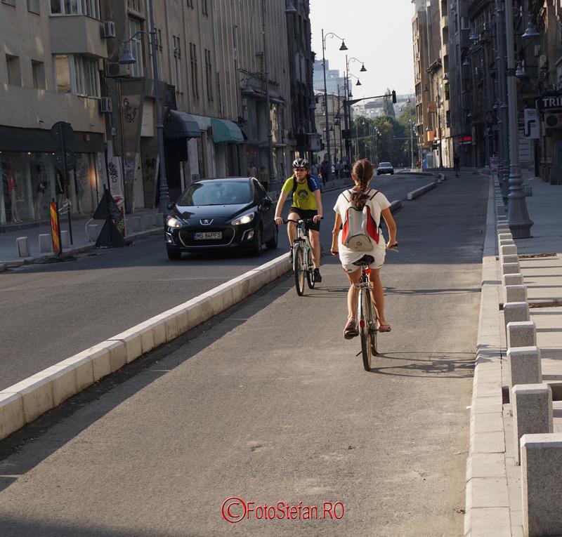 banda pentru biciclete calea victoriei